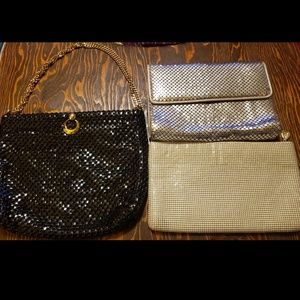 VTG Whiting & Davis Mesh Metal Purse and Clutches